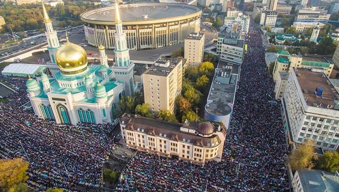 Moskevská mešita je modla pro muslimy